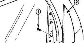 Как снять наружную облицовку задней двери на Дэу Матиз