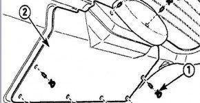 Снимаем обивку крышки багажника на Дэу Матиз