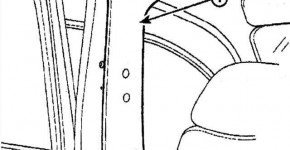 Снимаем  облицовки передней, средней и задней стойки на Дэу Матиз