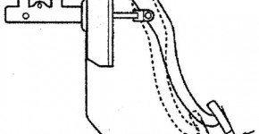 Измеряем свободный ход педали тормоза на Матизе