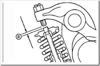 измерение теплового зазора клапанов