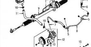 Описание системы гидроусилителя рулевого управления Дэу Матиз