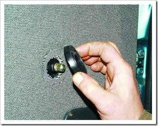 снятие ручки стеклоподъемника на двери ваз 2110