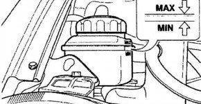 Проверяем уровень жидкости в системе охлаждения Матиза