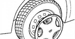 Как заменить колесо на Дэу Матиз