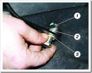 ремонт переднего ремня безопасности на десятке