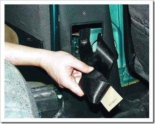 ремонтируем ремень безопасности
