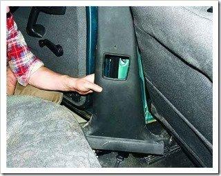 передний ремень безопасности на ваз 2110