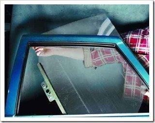 Снимаем стекло с задней двери ваз 2110