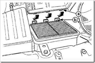Как поменять воздушный фильтр на матизе