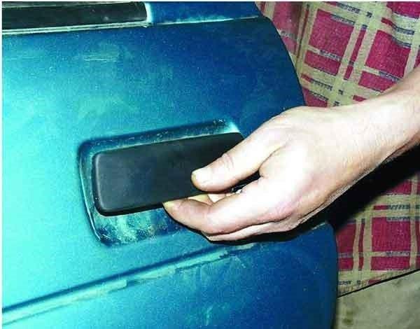 Замена наружной ручки на задней двери ВАЗ 2110, 2111, 2112, приора