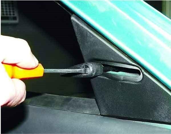 Как снять и установить наружное зеркало заднего вида на ВАЗ 2110,2111, 2112