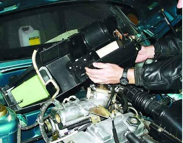 Снятие и установка отопителя на ваз 2110, 2111, 2112