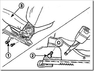 снимаем подушку переднего сиденья в матизе