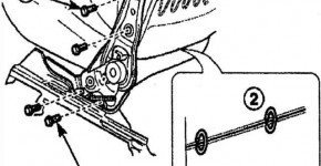 Как снять спинку переднего сиденья в матизе