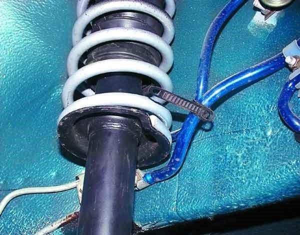 Как заменить амортизатор и пружину задней подвески на ВАЗ 2110, 11, 12.