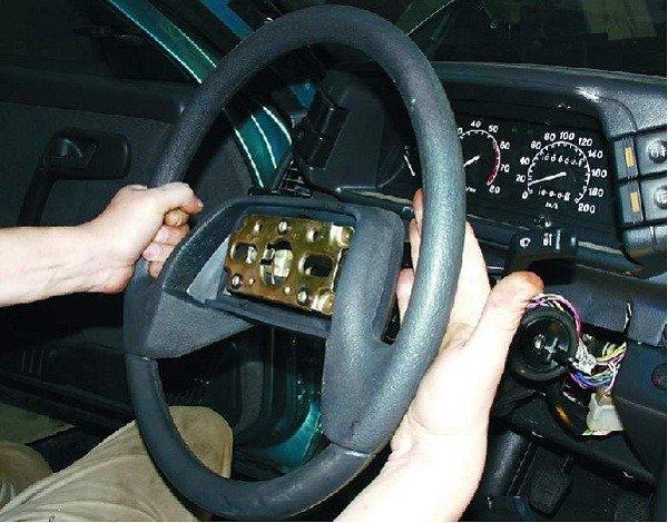 Как снять и установить рулевое колесо на ВАЗ 2110