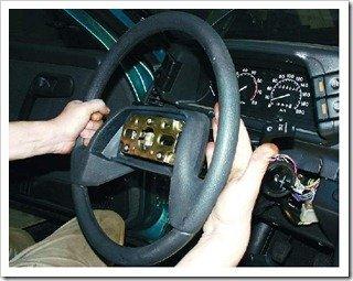 замена рулевого колеса в ваз 2110