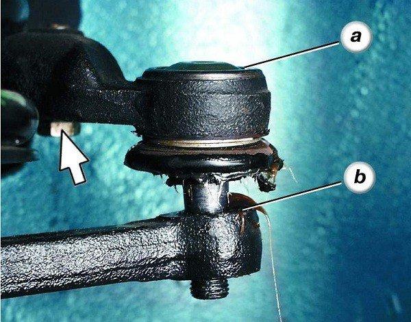 Как поменять наконечник рулевой тяги на ВАЗ 2110, 11, 12