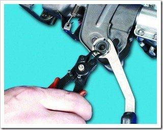 Ремонтируем механизм регулировки рулевой колонки