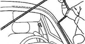 Как снять и установить ветровое стекло на Матизе