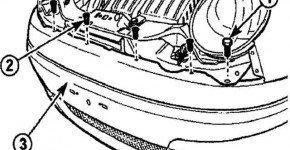 Как снять облицовку переднего бампера на Дэу Матиз