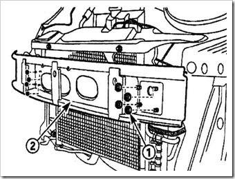 замена каркаса переднего бампера матиз
