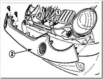 Как снять накладку переднего бампера на Матизе
