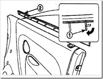 меняем внутренний уплотнитель двери на матизе