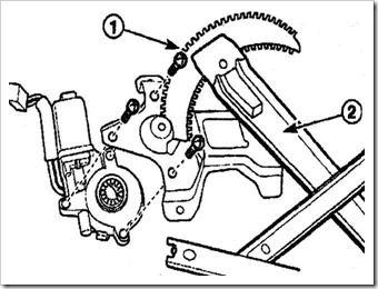 замена двигателя электростеклоподъемника на дэу матиз