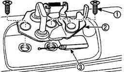 Как снять фиксатор замка двери багажника матиза