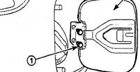 Как снять крышку заправочной горловины матиза
