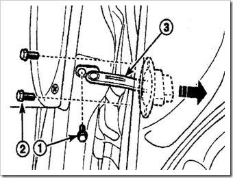 замена ограничителя открывания двери на дэу матиз