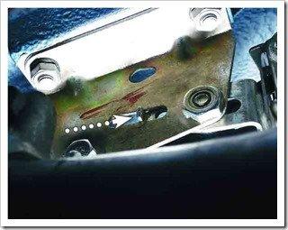 установка регулятора давления тормозной системы на ваз 2110