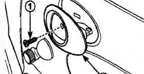 Как снять и установить внутреннюю и наружную ручку передней двери на Дэу Матиз