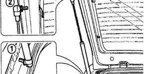 Как снять стойку двери багажника матиза