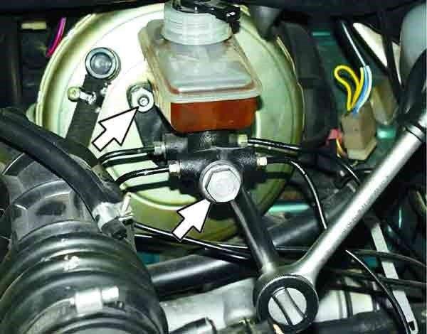 Как снять и установить главный тормозной цилиндр на ваз 2110, 2111, 2112