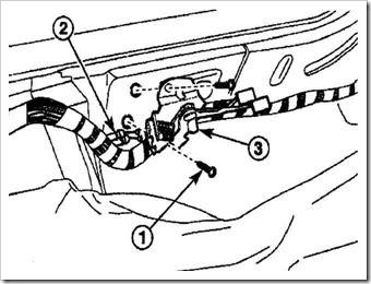 замена троса открытия двери багажника матиза