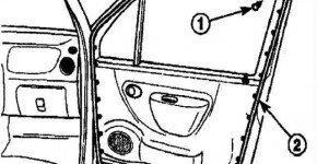 Как снять уплотнитель двери на Дэу матиз