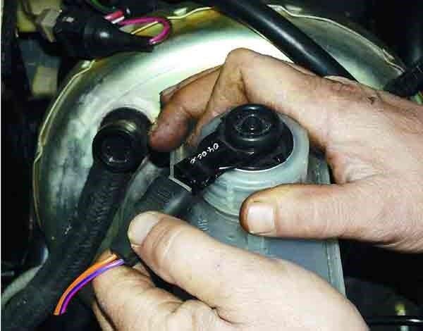 Замена вакуумного усилителя тормозной системы на ВАЗ 2110, 2111, 2112