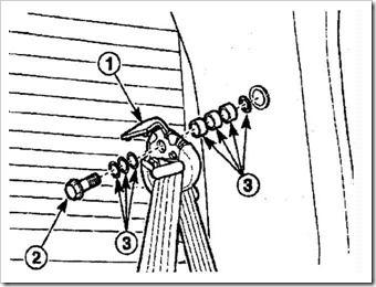 самостоятельный ремонт заднего ремня безопасности матиза
