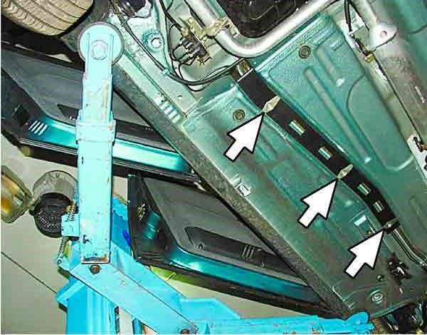 Как поменять тормозные трубки на ВАЗ 2110