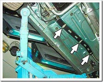 замена тормозных трубок на десятке