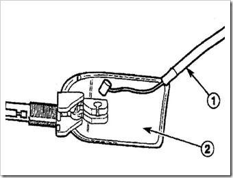 ремонт рычага защелки капота матиза