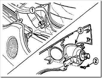 замена переднего указателя поворота на матизе