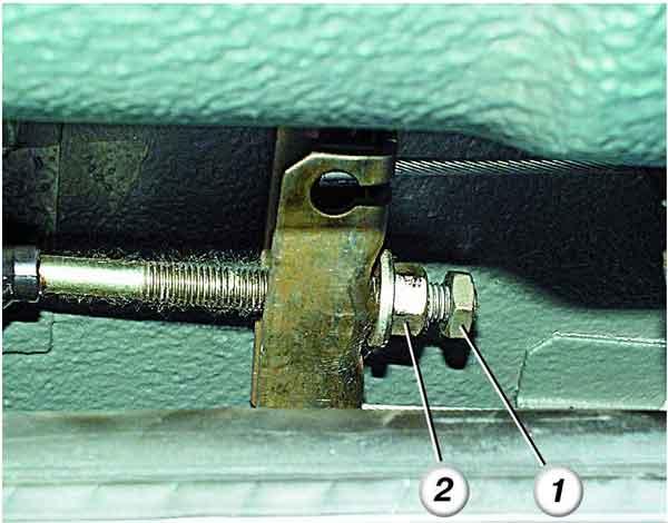 Как отрегулировать стояночный тормоз на ВАЗ 2110, 2111, 2112.