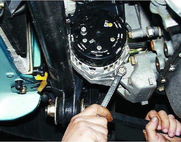 Как снять и установить генератор на ВАЗ 2110, 2111, 2112