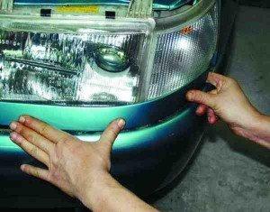 Как снять и установить блок-фару на ВАЗ 2110