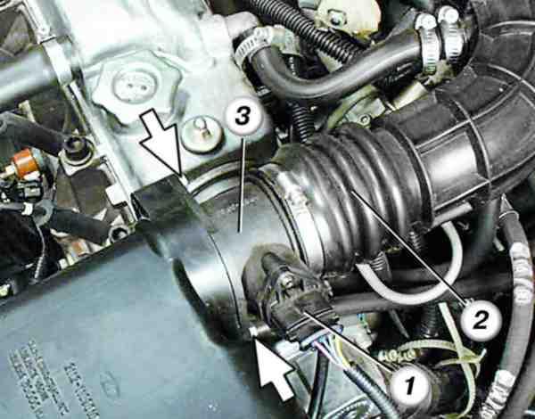 Как поменять датчик массового расхода воздуха на ВАЗ 2110
