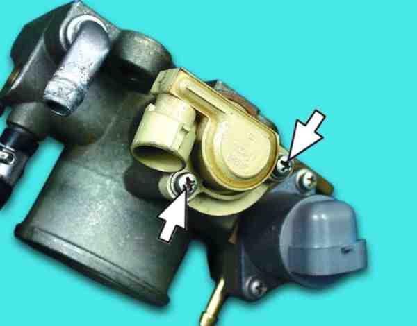 Как поменять датчик положения дроссельной заслонки на ВАЗ 2110